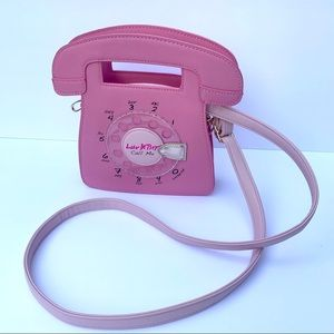 Betsey Johnson Bags - Betsey Johnson Telephone Crossbody Bag NWOT